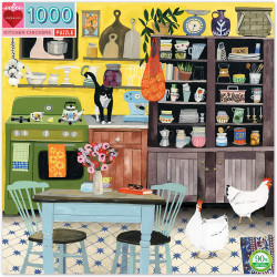 Puzzle : 1000 pièces - Kitchen Chicken