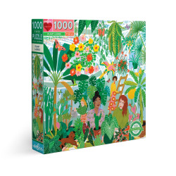 Puzzle : 1000 pièces - Plant Ladies