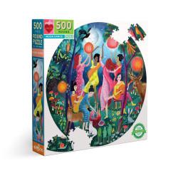 Puzzle : 500 pièces rond - Moon Dance