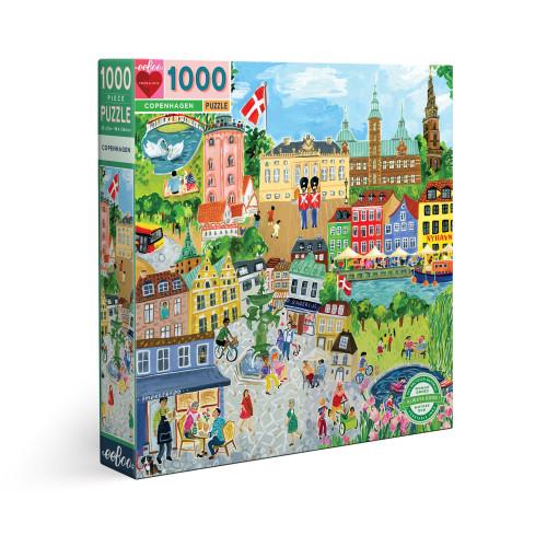 Puzzle : 1000 pièces - Copenhaguen
