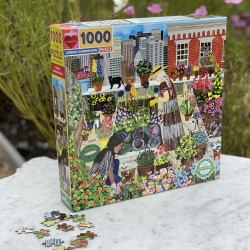 Puzzle : 1000 pièces - Urban Gardening