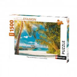 Puzzle N 1500 p - Plage paradisiaque
