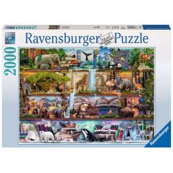 Puzzle : 2000 pièces - Magnifique Monde Animal