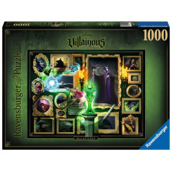 Puzzle 1000 p - Maléfique (Collection Disney Villainous)