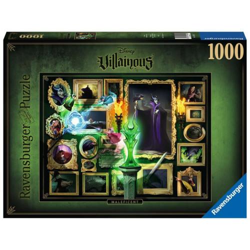 Puzzle 1000 p - Maléfique (Collection Disney Villainous)