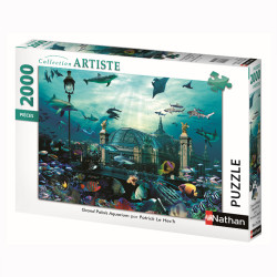 Puzzle N 2000 p - Grand Palais aquarium