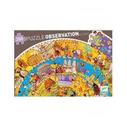 Puzzle : 350 pièces- L'histoire du monde et son livret
