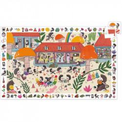 Puzzle : 35 pièces - L'école des hérissons