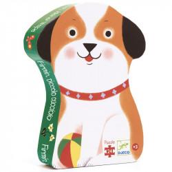 Puzzle : 24 pièces - Firmin petit chien