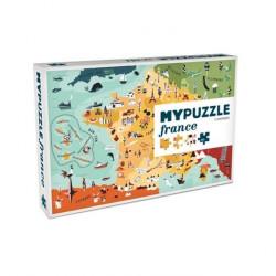 Puzzle : 252 pièces - La France