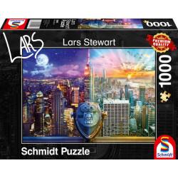Puzzle : 1000 pièces - New York - L. Stewart
