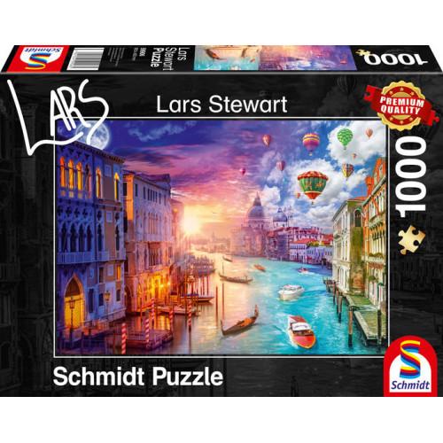 Puzzle : 1000 pièces - Venise - Day & Night