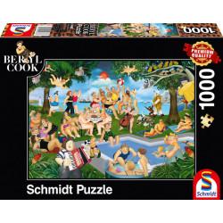 Puzzle : 1000 pièces - Fête estivale