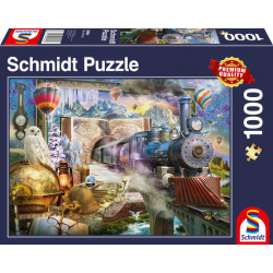 Puzzle : 1000 pièces - Voyage Magique