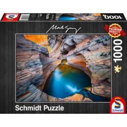 Puzzle : 1000 pièces - Indigo