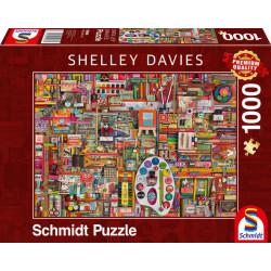 Puzzle : 1000 pièces - Matériel d'artiste