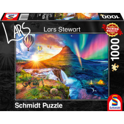 Puzzle : 1000 pièces - Islande - Day & Night
