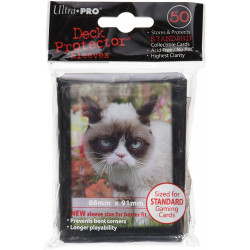 Protèges-cartes : Grumpy Cat - Lot de 50