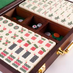 Mahjong Boite bois