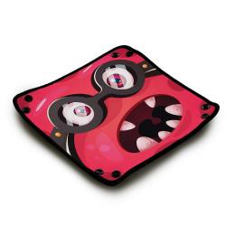 Piste de dés en néoprène - Cool Monster Pink