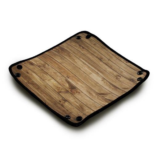 Piste de dés en néoprène - Wood Texture