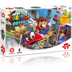 Puzzle 500 pièces - Super Mario Odyssey World Traveler