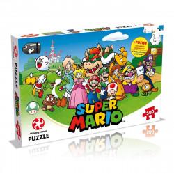 Puzzle 500 pièces - Super Mario and Friends