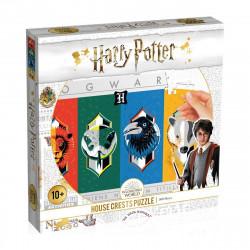Puzzle 500 pièces - Harry Potter Les 4 maisons