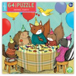 Puzzle : 64 pièces - La Fête des animaux