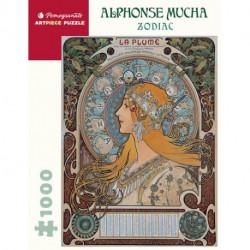 Puzzle : 1000 pièces -Alphonse Mucha - Zodiac