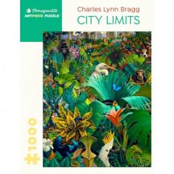 Puzzle : 1000 pièces -Charles Lynn Bragg - City Limits
