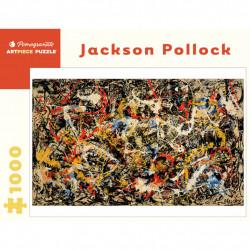 Puzzle : 1000 pièces - Jackson Pollock - Convergence