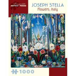 Puzzle : 1000 pièces - Joseph Stella - Flowers Italy