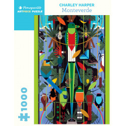 Puzzle : 1000 pièces - Charley Harper - Monteverde