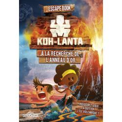 Escabe Book Junior - Koh-Lanta A la recherche de l'anneau d'or