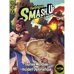 Smash Up : Tournée Mondiale : Incident Diplomatique