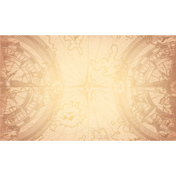 Tapis de jeu : 60x100 - Compass Sepia