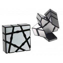 Floppy Ghost Cube Silver / Gold