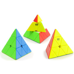 Pyraminx sans autocollant