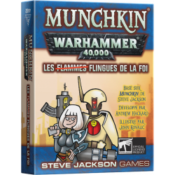 Munchkin Warhammer 40K : Les Flingues de la Foi
