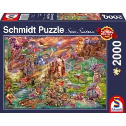 Puzzle : 2000 pièces - Le Trésor des Dragons