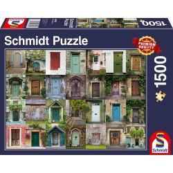 Puzzle : 1500 pièces - Portes