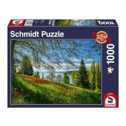 Puzzle : 1000 pièces - Floraison des Tulipes