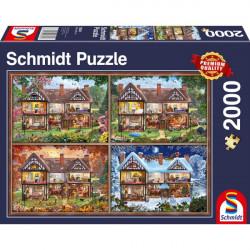 Puzzle : 2000 pièces - Maison des Quatre Saisons
