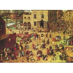 PUZZLE WENTWORTH 40 PIECES : BRUEGHEL