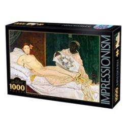 PUZZLE : MANET- OLYMPIA X1000