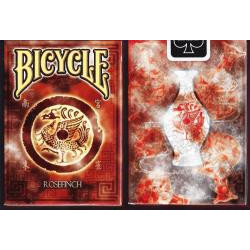 54 Cartes Bicycle Rosefinch