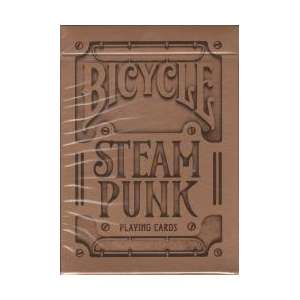 54 Cartes Bicycle Steampunk V.2