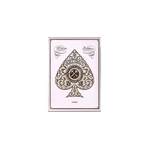 54 CARTES BICYCLE ARTISAN BLANC