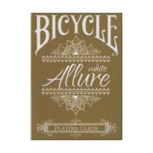 54 Cartes Bicycle Allure White